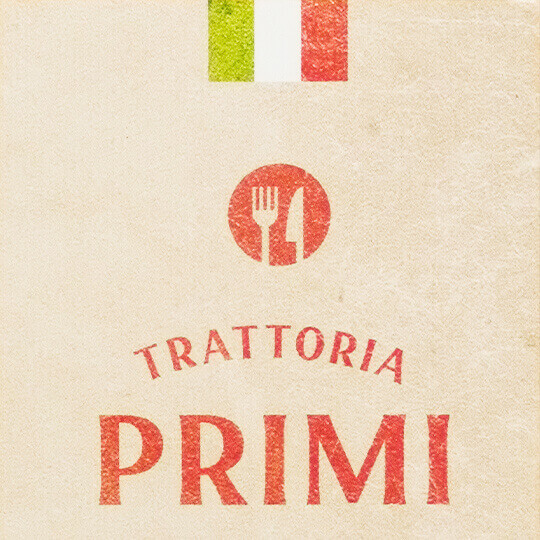 TORATTORIA PRIMI / ショップカード制作